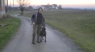 Susanna e il suo cane